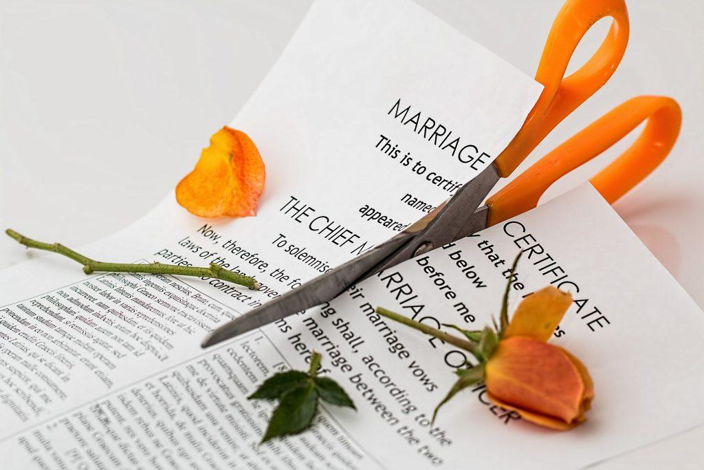 vivre séparés sans divorcer